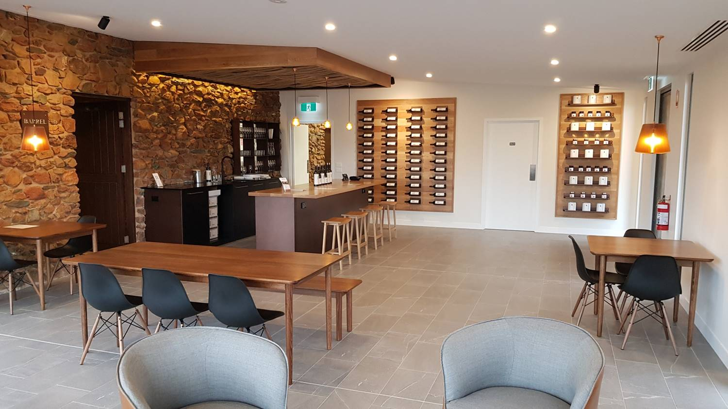 New Cellar Door at Heathcote II